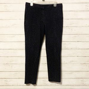 Theory Speckled Fabric Dress Pants